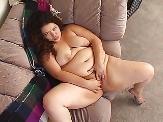 Horny fat chick..
