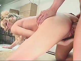 Hot hardcore sex with a..