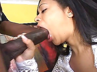 Monstrous black boner..
