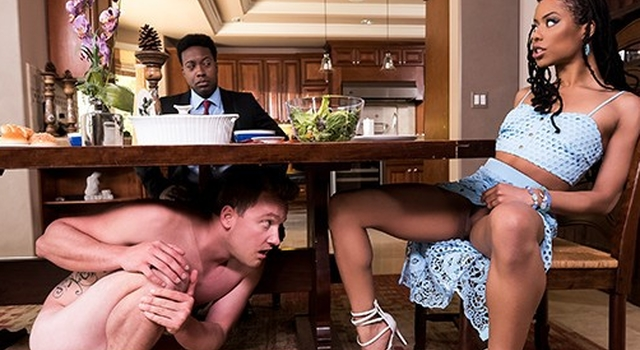 Brazzers - Ebony housewife..