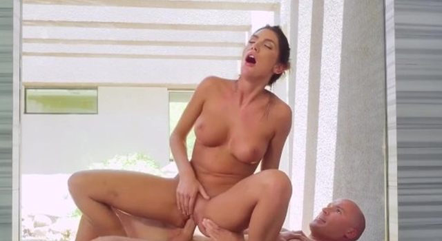 August Ames Gets Fucked..