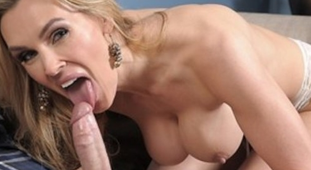 Slutty blonde MILF Tanya..